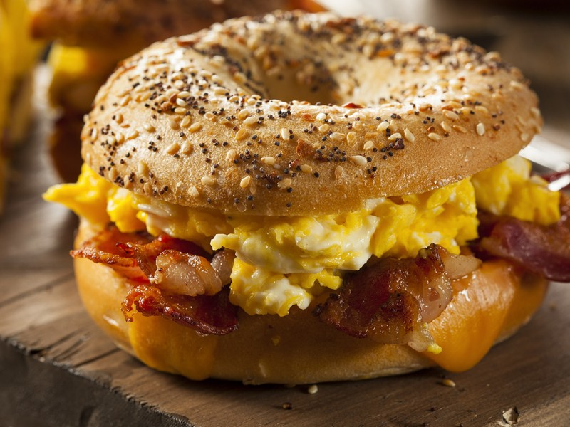 Manhattan Breakfast Bagel