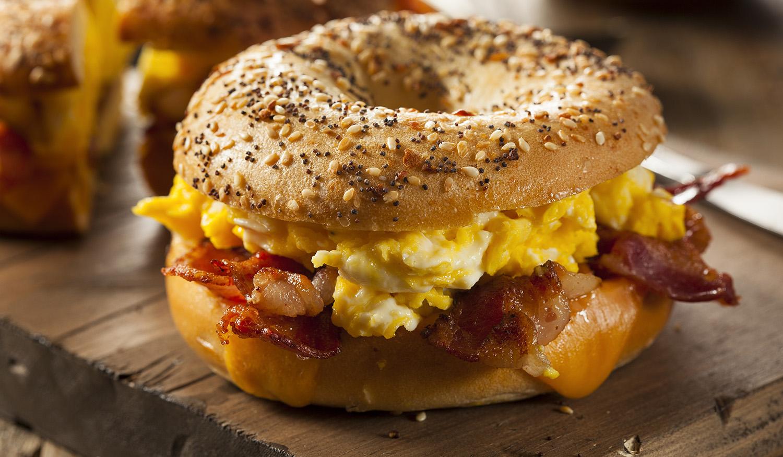 Manhattan Breakfast Bagel
