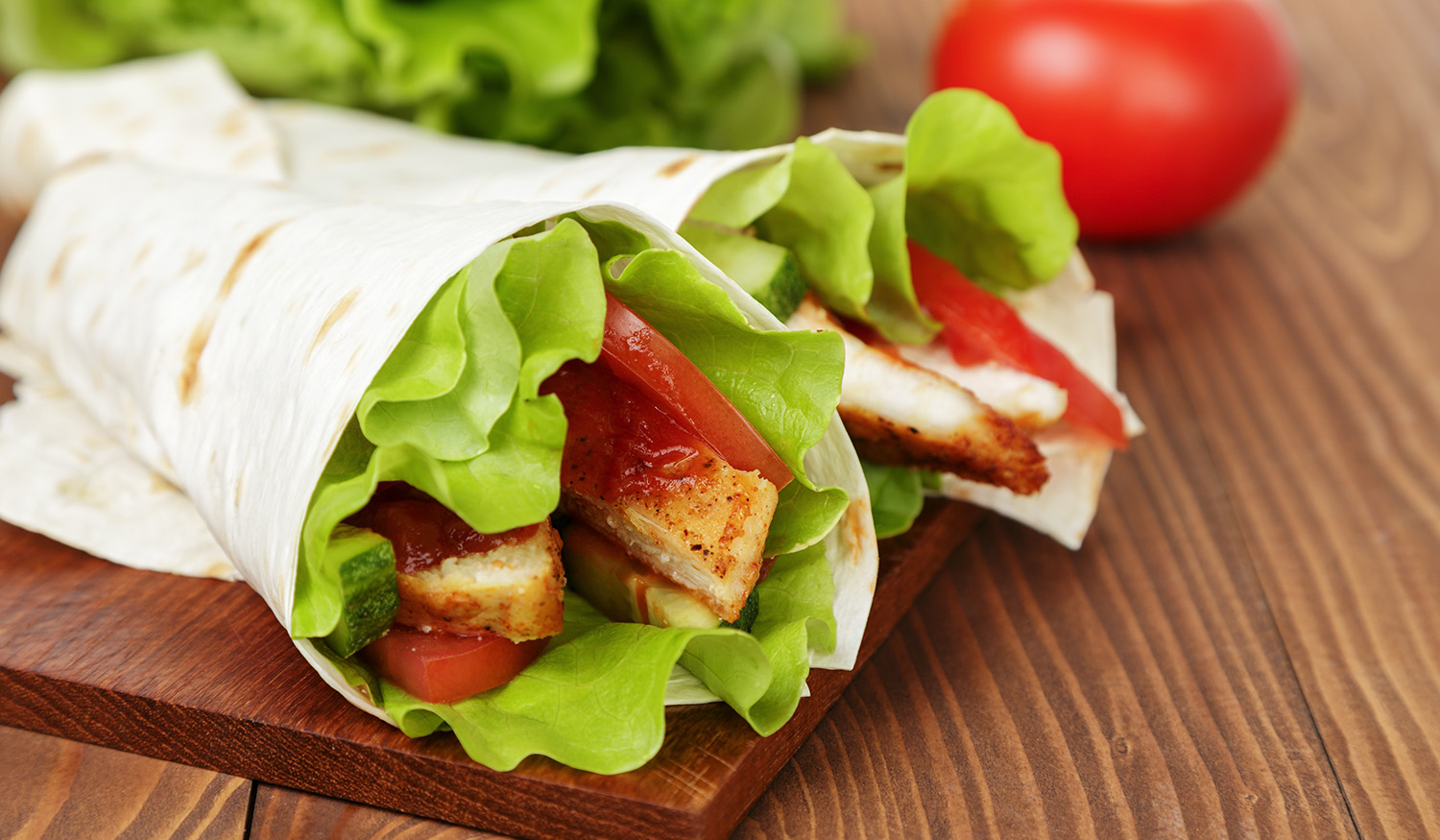 Santa Fe Chicken Wrap