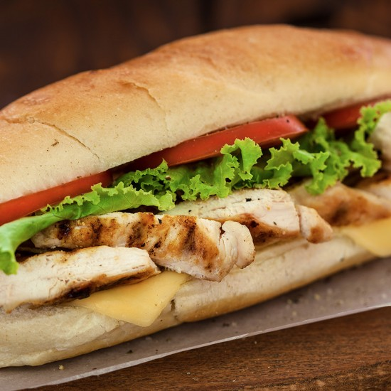 Santa fe chicken sandwich