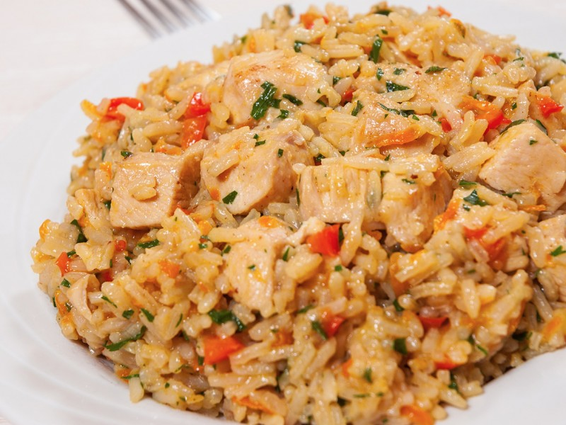 FRIED RICE (CHICKEN or SHRIMP)