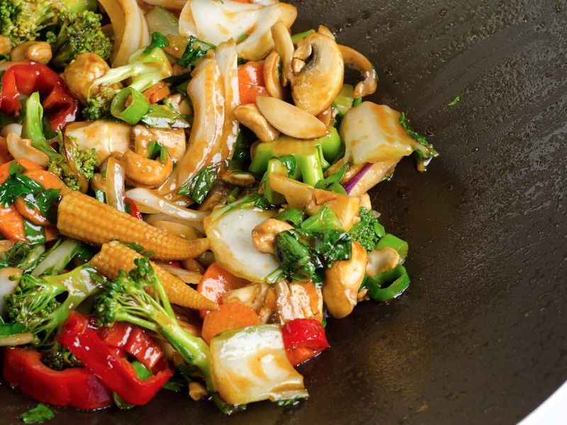 STIR FRIED CHICKEN ( or shrimp)